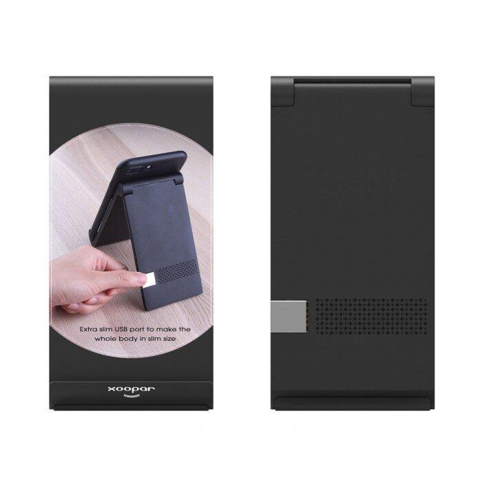 Mobilā telefona bezvadu lādētājs-statīvs KOZ2262-DD