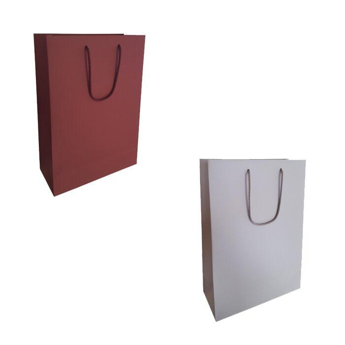 Papīra dāvanu maisiņš 16x22-DD