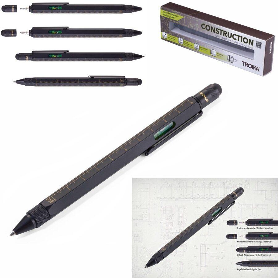 """Daudzfunkcionāla lodīšu pildspalva """"CONSTRUCTION"""""""