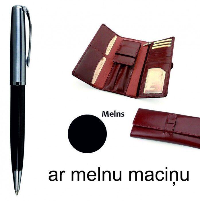 Pildspalva ar ādas maku ST130ES-RO4231-M-DD (ar gravējumu)