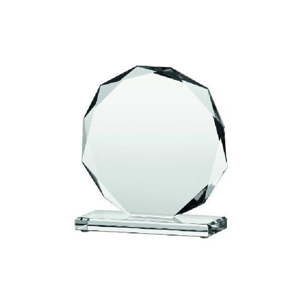 Stikla balva TR80611-DD ar gravējumu