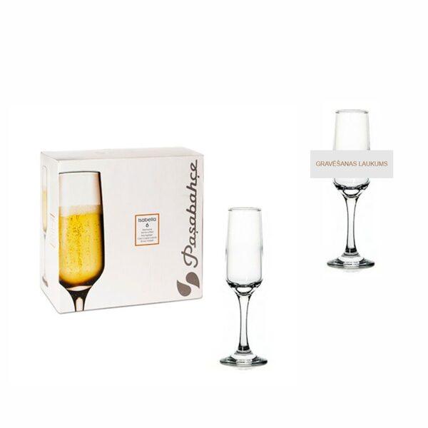 Šampanieša glāze BK180319 ar gravējumu