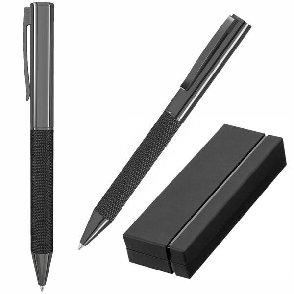 Eleganta metāla pildspalva UP09350K-DD ar gravējumu