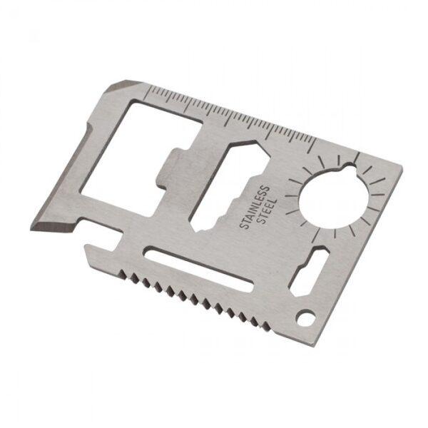 Kredītkartes formas multi instruments RD-R17498-01-DD ar gravējumu