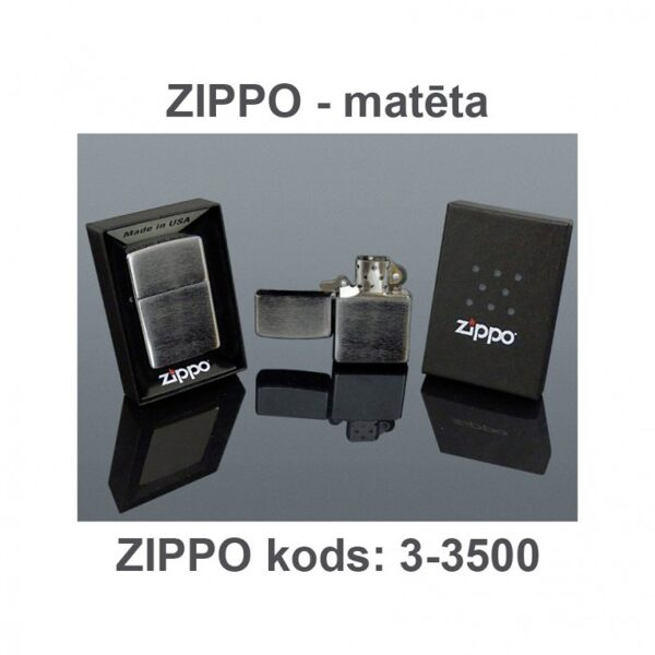 Šķiltavas ZIPPO-DM3-3500-DD ar gravējumu