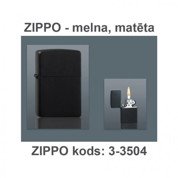 Šķiltavas ZIPPO-DM3-3504-DD ar gravējumu