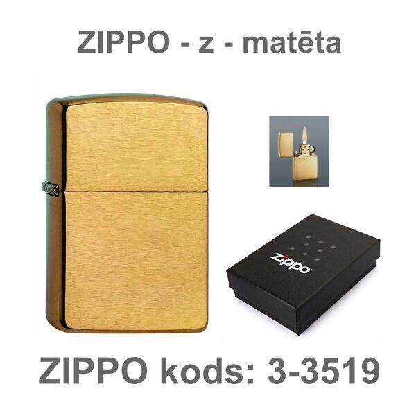 Šķiltavas ZIPPO-DM3-3519-DD ar gravējumu